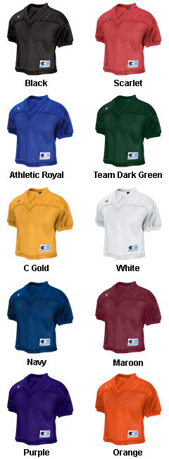 Youth Champion Fair Catch Practice Jersey - All Colors