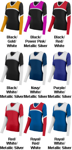 Girls Cheerflex Rise Up Shell - All Colors