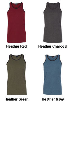 Burnside Heathered Tank Top - All Colors