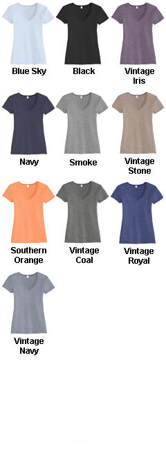 Alternative Keepsake V-neck Vintage 50/50 Tee - All Colors