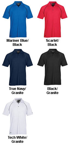 Mens Piranha Performance Polo - All Colors