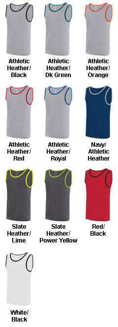 Adult Ringer Tank Top - All Colors