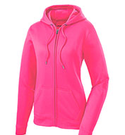 Custom Ladies Sport-Wick® Fleece Full-Zip