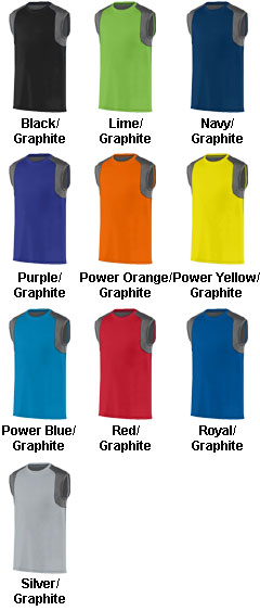 Adult Astonish Sleeveless Jersey - All Colors