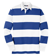 Sport-Tek Long Sleeve Rugby Polo