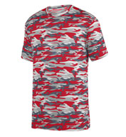 Custom Adult Mod Camo Wicking Tee
