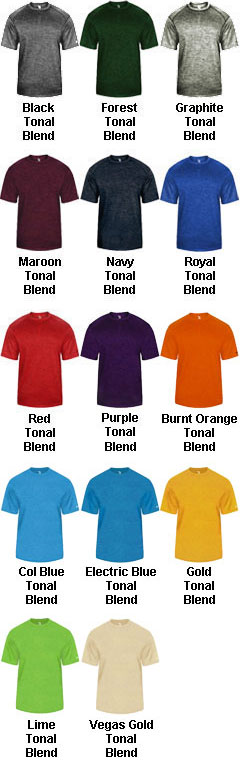 Adult Tonal Blend Tee - All Colors