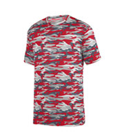 Youth Mod Camo Wicking Tee