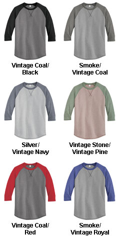 Alternative Dugout 3/4-Sleeve Vintage 50/50 Tee - All Colors