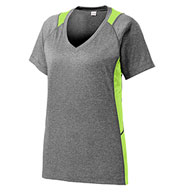 Ladies Heather Colorblock Contender™ Tee