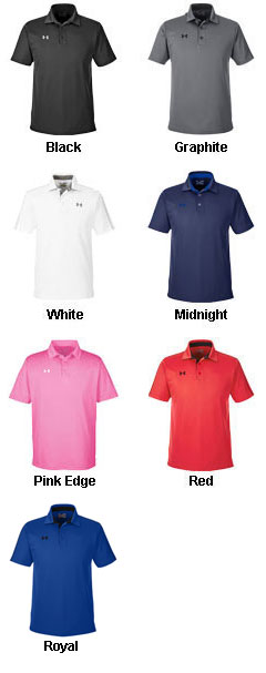 Mens Under Armour Tech Polo - All Colors