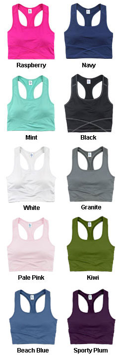 Ladies Cropped Middie Tank - All Colors