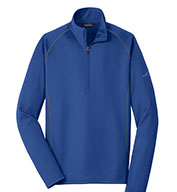 Custom Eddie Bauer Mens 1/2-Zip Base Layer Fleece