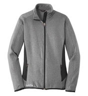 Eddie Bauer Ladies Full-Zip Heather Stretch Jacket