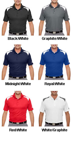 Mens Under Armour Team Colorblock Polo - All Colors