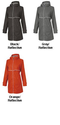 Womens New Englander Raincoat by Charles River Apparel - All Colors