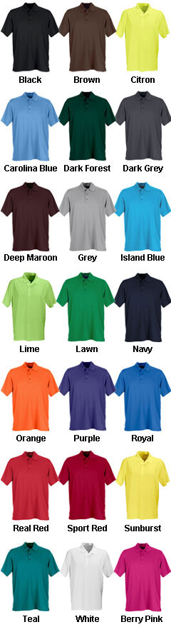 Vansport™ Omega Solid Mesh Tech Polo - All Colors