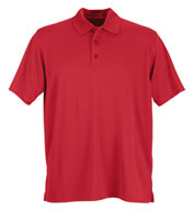 Custom Vansport™ Omega Solid Mesh Tech Polo