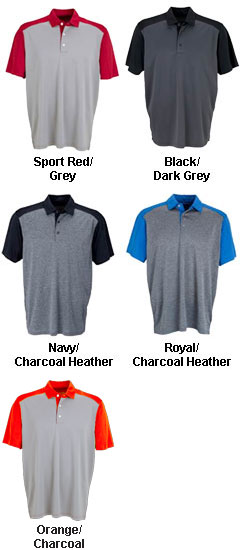 Vansport� Two-Tone Polo - All Colors