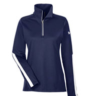Ladies Under Armour Qualifier 1/4 Zip