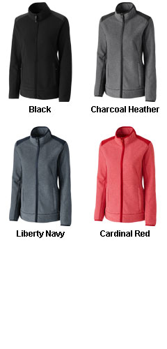 Cutter & Buck Ladies Cedar Park Fleece Jacket  - All Colors