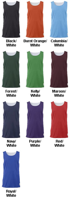 Adult B-Core Reversible Tank - All Colors