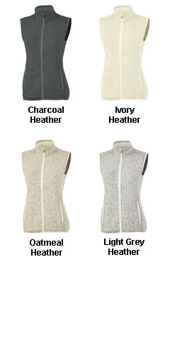 Womens Pacific Heathered Vest - All Colors