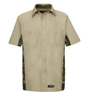 Custom Wrangler Short-Sleeve Camo Shirt