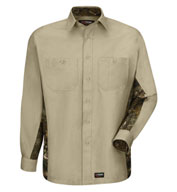 Custom Wrangler Long-Sleeve Camo Shirt