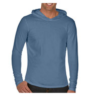 Custom Adult Long-Sleeve Hooded T-Shirt
