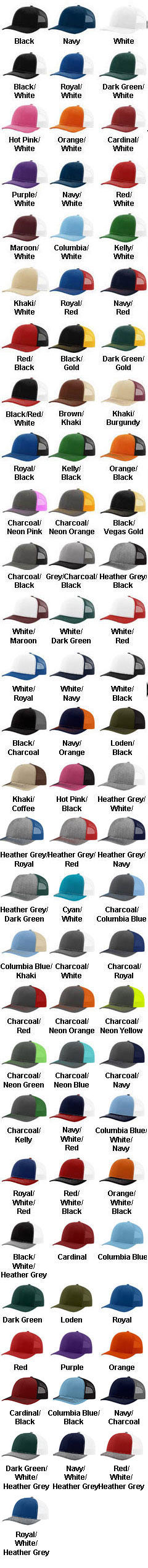 Trucker Snapback Cap - All Colors