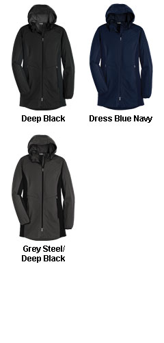 Ladies Active Hooded Soft Shell Jacket - All Colors