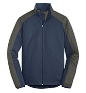 Custom Port Authority Mens Active Colorblock Soft Shell Jacket