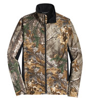 Custom Port Authority®  Mens Camouflage Colorblock Soft Shell Jacket