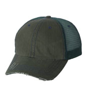 Custom Herringbone Unstructured Trucker Cap