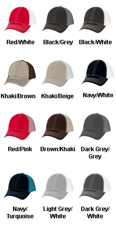 Heavy Cotton Twill Front Trucker Cap - All Colors