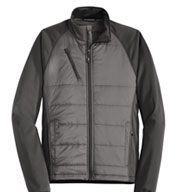 Custom Port Authority® Mens Hybrid Soft Shell Jacket
