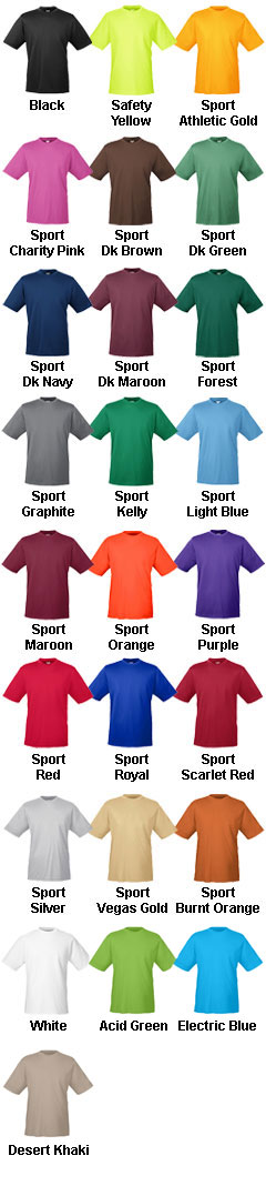 Mens Zone Performance T-Shirt - All Colors