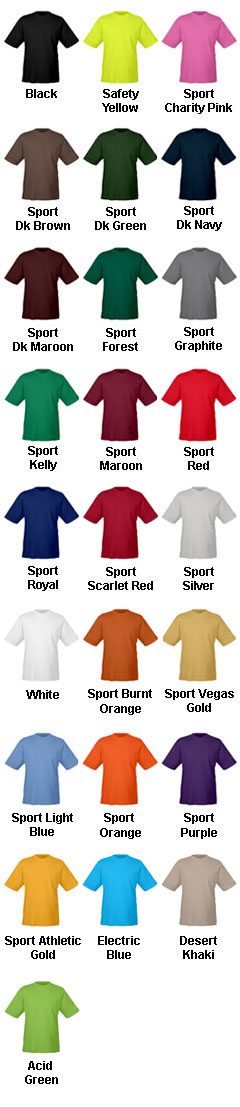 Youth Zone Performance T-Shirt - All Colors