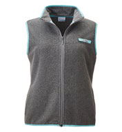Custom Columbia Womens PFG Harborside Fleece Vest