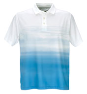 Custom Vansport� Pro Ombre Print Polo