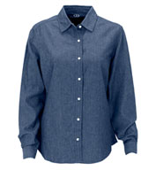 Custom Womens Hudson Denim Shirt