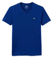 Custom Lacoste Mens Cotton Short Sleeve Tee