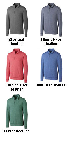 Mens Big & Tall Shoreline Half Zip - All Colors