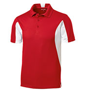 Custom Mens Tall Side Blocked Micropique Sport-Wick® Coaches Polo Shirt