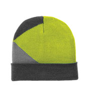 Custom Port Authority Cuffed Colorblock Beanie