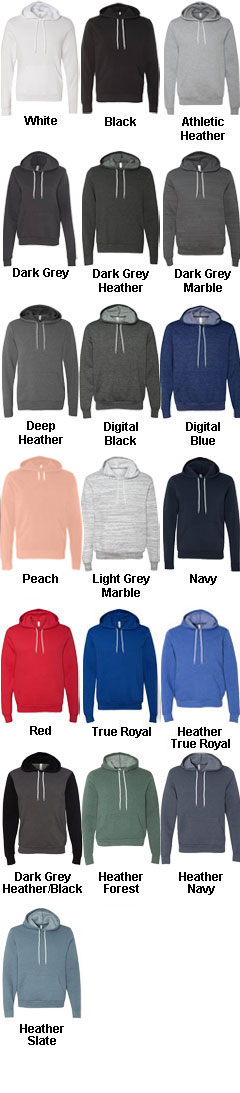 Bella  + Canvas Unisex Hooded Pullover Sweatshirt - All Colors