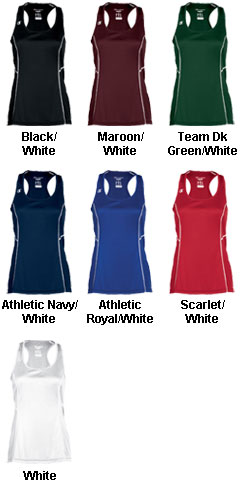 Womens Raceday Singlet - All Colors