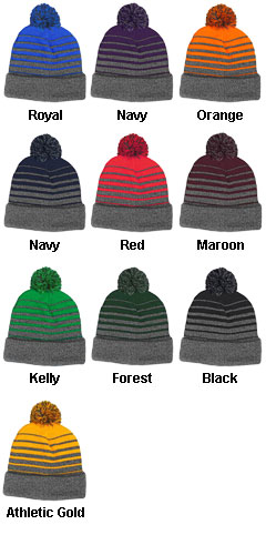 Gradient Beanie Made In USA - All Colors