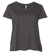 Custom Ladies Curvy Fit Scoopneck Tee